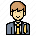 avatar, human, lawyer, man, occupation, profession icon