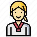 avatar, human, occupation, profession, sportgirl, woman icon
