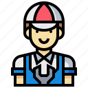 avatar, human, man, occupation, profession, technician icon