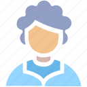 adviser, avatar, grandma, grandmother, old, old lady, old woman, people, profile, woman icon
