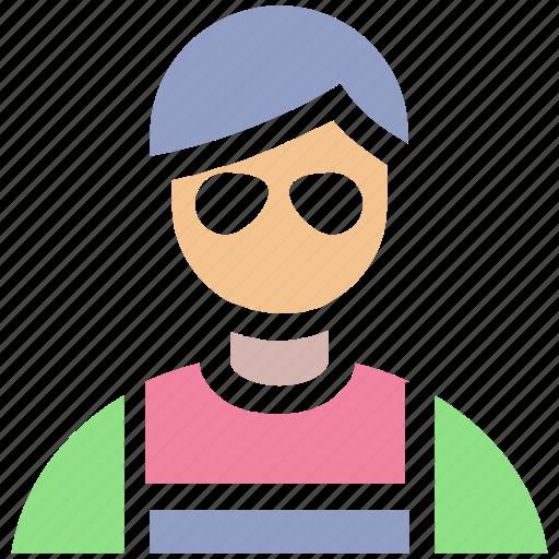 architect, avatar, builder, construction worker, engineer, labour icon