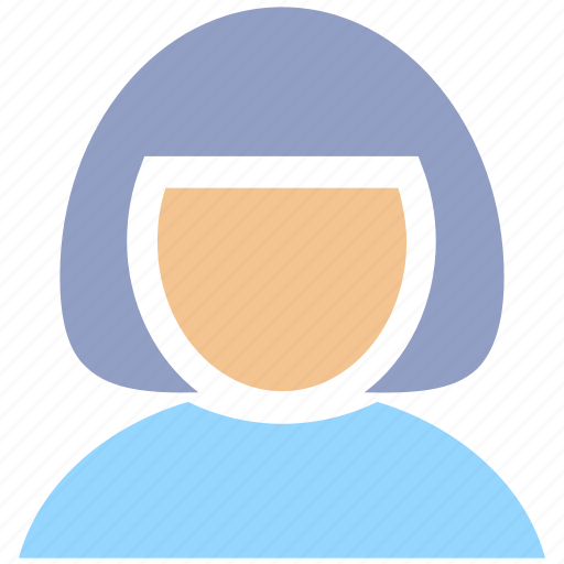 avatar, blonde, girl, lady, office woman, user, woman icon