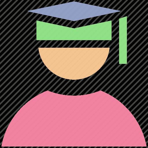 academician, degree, diploma, educator, graduate, lecturer, master, professor, scholar, scholastic, student, tutor icon