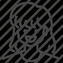 avatar, bob, character, hairstyles, profile, user, woman