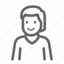avatar, man, woman icon