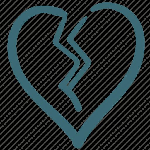 break my heart, broke, broken, doodle, heart, like, love icon
