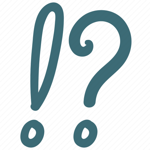 doodle, faq, mark, question, remind icon