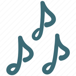 doodle, music, note, virtuoso icon