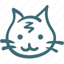 animal, avatar, cat, doodle