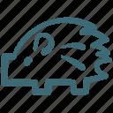 porcupine, doodle, animal