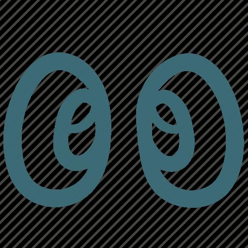 doodle, eye, eyes, human icon
