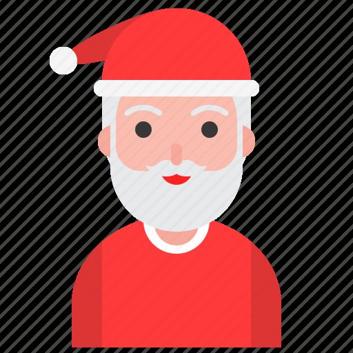celebration, christmas, new year, santa, santa claus, xmas icon