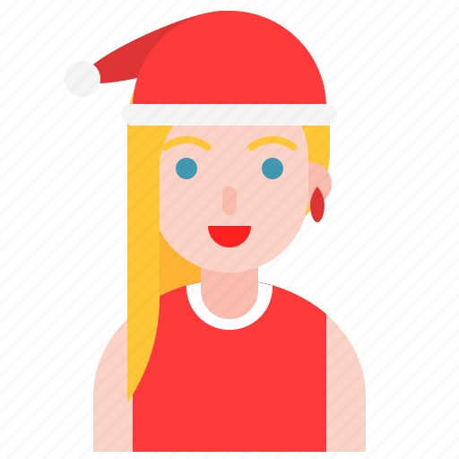christmas, girl, hat, party, santy, sexy icon