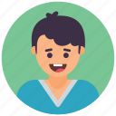 boy avatar, guy, male avatar, schoolboy, youngster icon