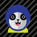 avatar, costume, cute, kid, panda, smile, style icon