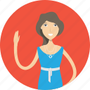 avatar, career, casuallady, character, face, female, profession icon