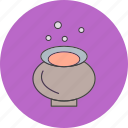 cauldron, danger, halloween icon