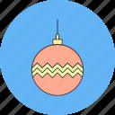 ball, bomb, christmas, decoration icon