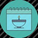 calendar, diwali icon