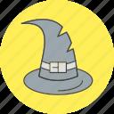 cap, magic, witch icon