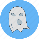 danger, ghost, halloween icon