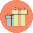 christmas, event, gift, present icon