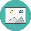 gallery, image, photography icon