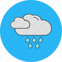 cloud, rain, raining, weather, winter icon