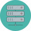 connect, data, link, server icon