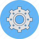 cog, setting, wheel icon