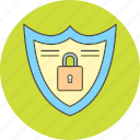 lock, protect, shield icon