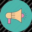 megaphone, speaker icon