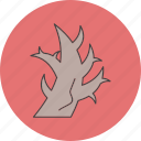 danger, halloween, tree icon