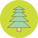 christmas, decoration, tree icon