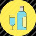 glass, vine icon