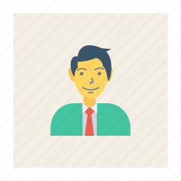 avatar, male, person, profile, user, worker, young icon