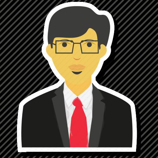 avatar, businessman, man, moustache, person, shades icon
