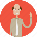 avatar, career, character, college, male, profession, teacher icon