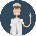 avatar, career, character, face, male, policeman, profession icon
