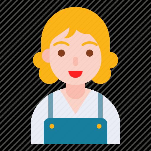 avatar, cyte, emoticon, girl, student icon
