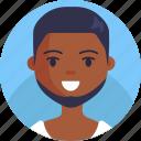 boy, avatar, male, man, male avatar, beard avatar