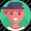 boy, avatar, male, man, face, human