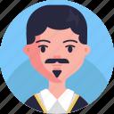 avatar, male, man, user, profile, person