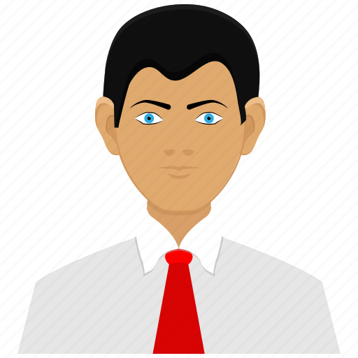 avatars, boy, business man, client, man icon