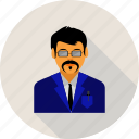 business, man, profile, user