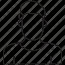 avatar, male, user icon