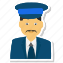 avatar, man, men, police icon