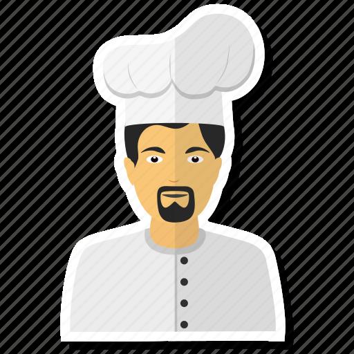avatar, chef, man, men, user icon