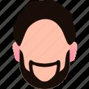 avatar, boy, businessman, character, fun, human, profile icon