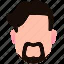 artist, beard, famous, mustache, people, profile, stylish icon